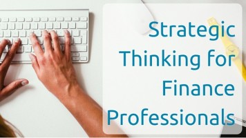 Strategic Thinking for Finance Professionals
