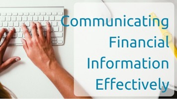 Communicating Financial Information Effectively