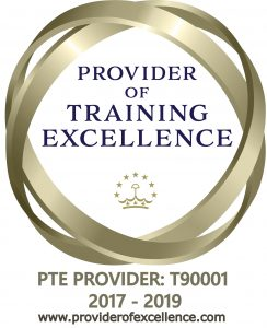 Provider of Training Excellence badge